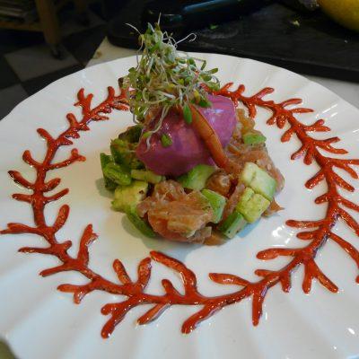 Salmon & Avocardo Tartare